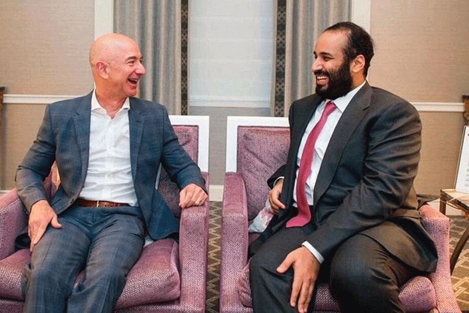 Príncipe da Arábia Saudita hackeou Jeff Bezos via WhatsApp, diz jornal