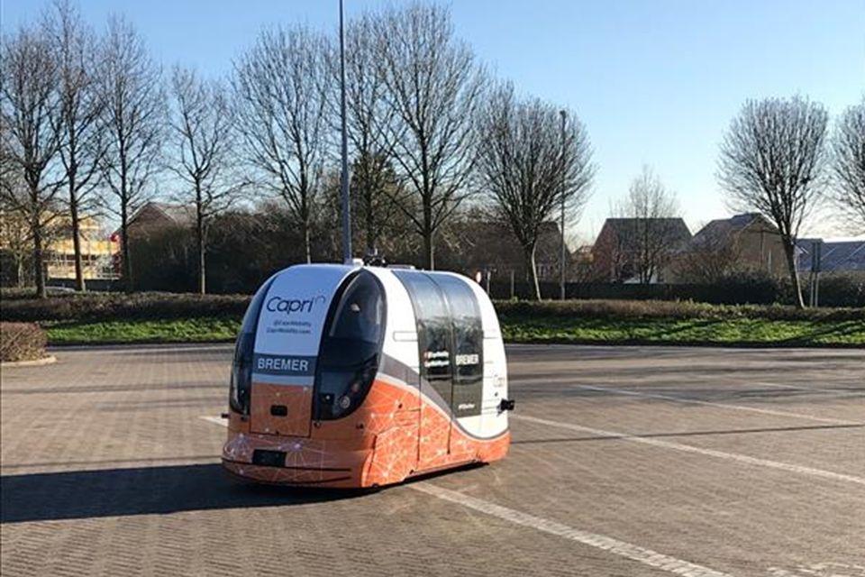 Mobilidade: transporte público autônomo é testado no Reino Unido