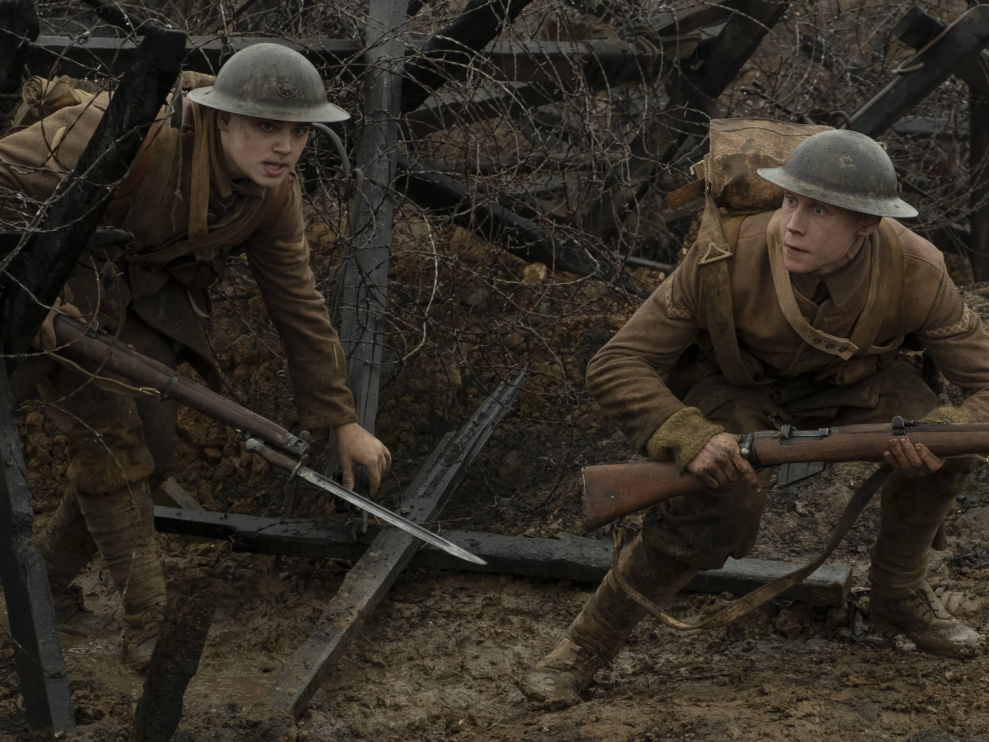 Crítica: 1917 mostra Primeira Guerra em tomada única