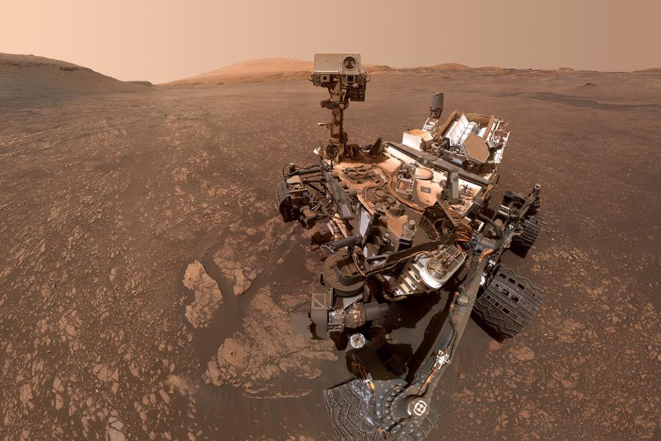 NASA informa que a sonda Curiosity está temporariamente inoperante