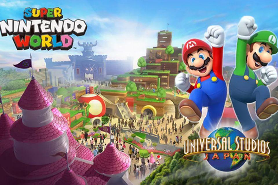 Nintendo terá área temática no parque Epic Universe de Orlando