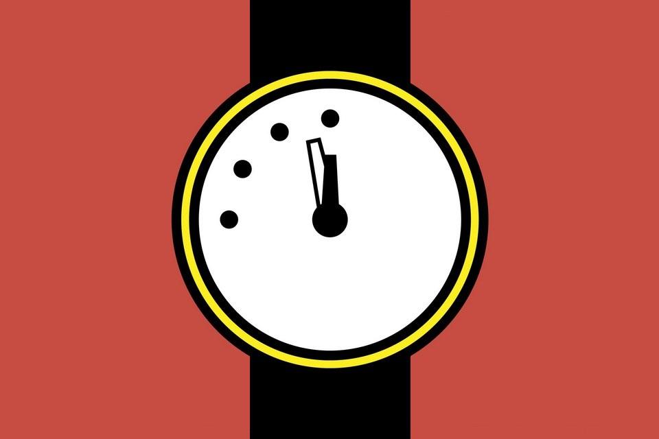 Relógio do Apocalipse é adiantado em 30 segundos