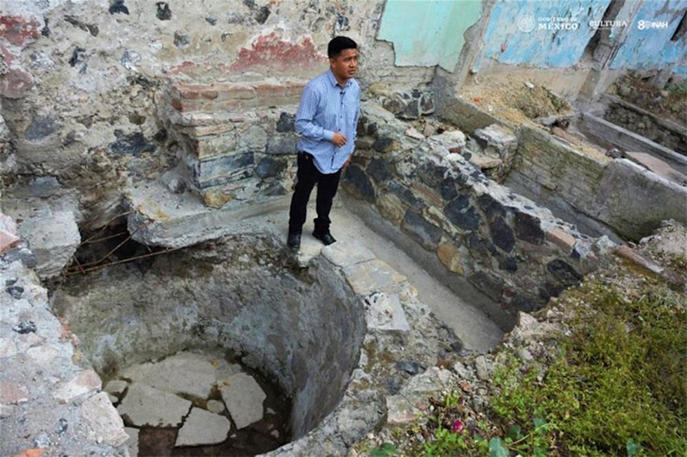 Descoberta sauna indígena do século XIV no México