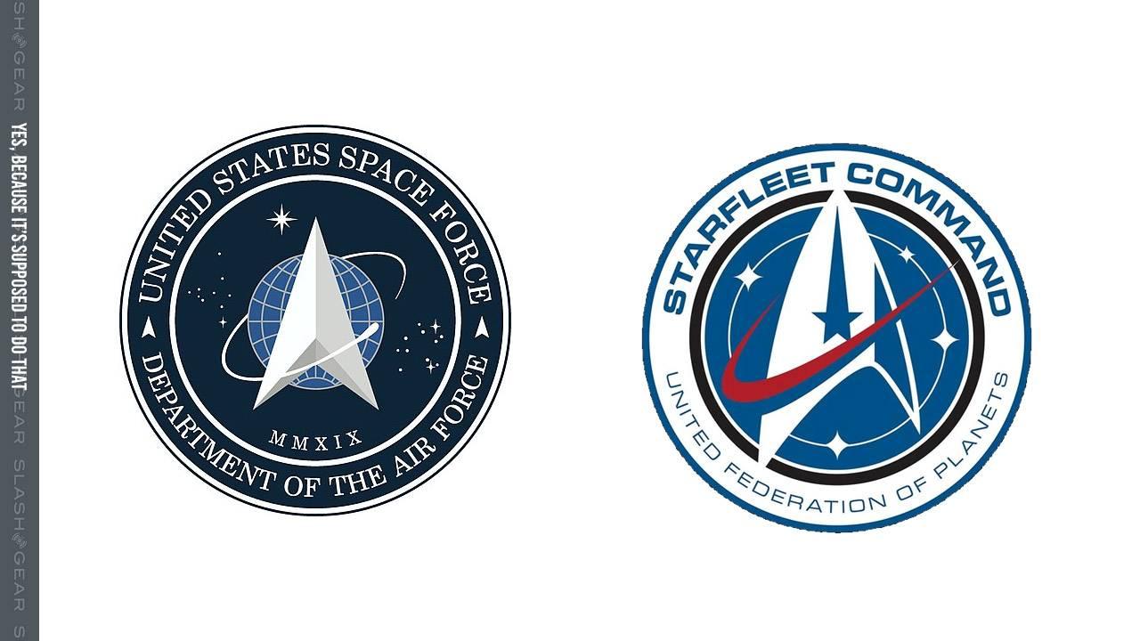 Logo da Space Force dos Estados Unidos é plágio de Star Trek?