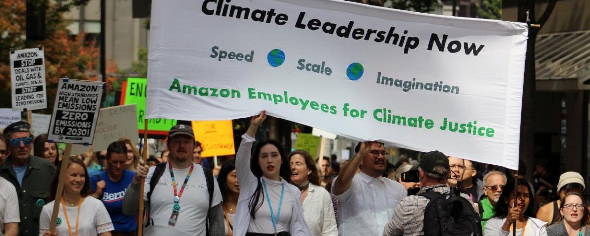 Amazon é alvo de novas críticas do grupo de ativistas climáticos