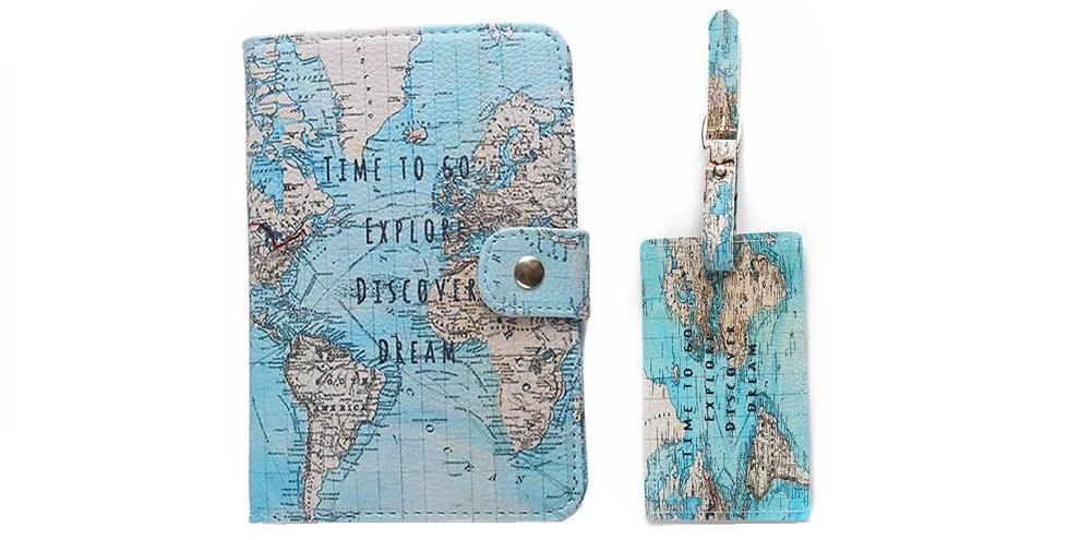 Kit passaporte e tag