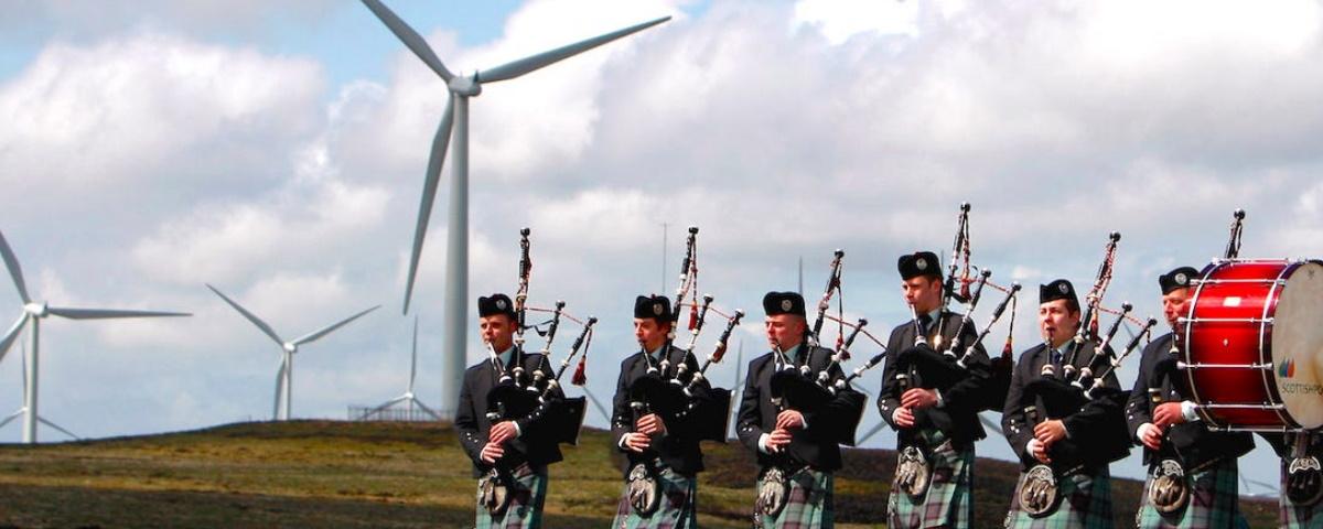 Imagem de: Escócia deve atingir 100% de produção de energia renovável em novembro