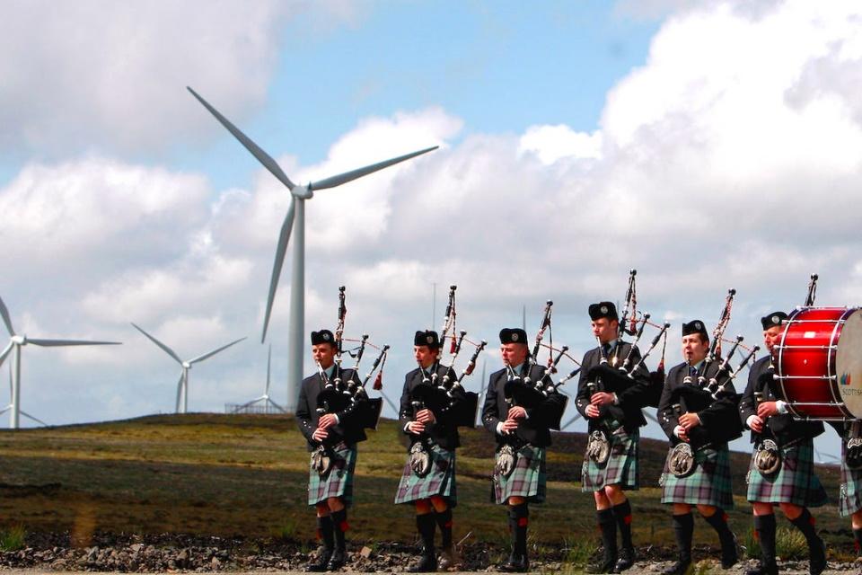 Escócia deve atingir 100% de produção de energia renovável em novembro