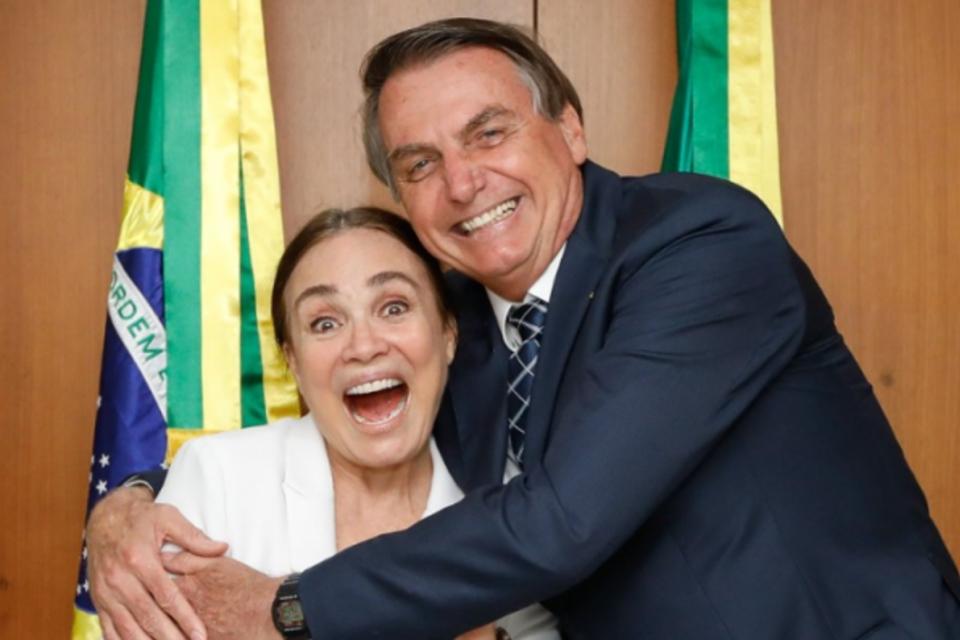 Regina Duarte assumirá Secretaria da Cultura no governo Bolsonaro