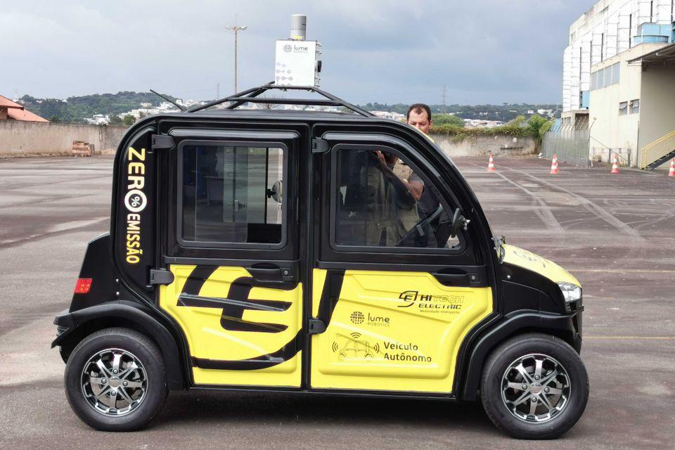 Conheça o 1º carro elétrico autônomo brasileiro