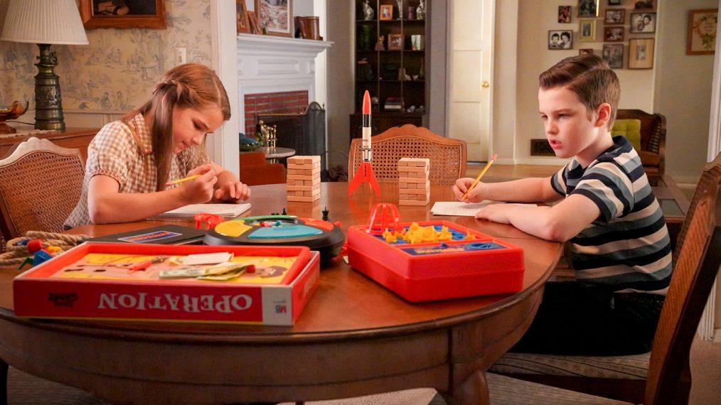 Young Sheldon: último episódio teve competição entre os gêmeos