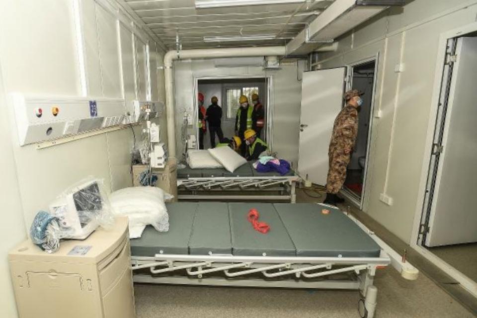 Contra Coronavírus, China constróis hospital inteiro em 10 dias