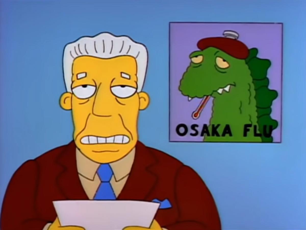 Os Simpsons previram o novo Coronavírus há quase 30 anos?