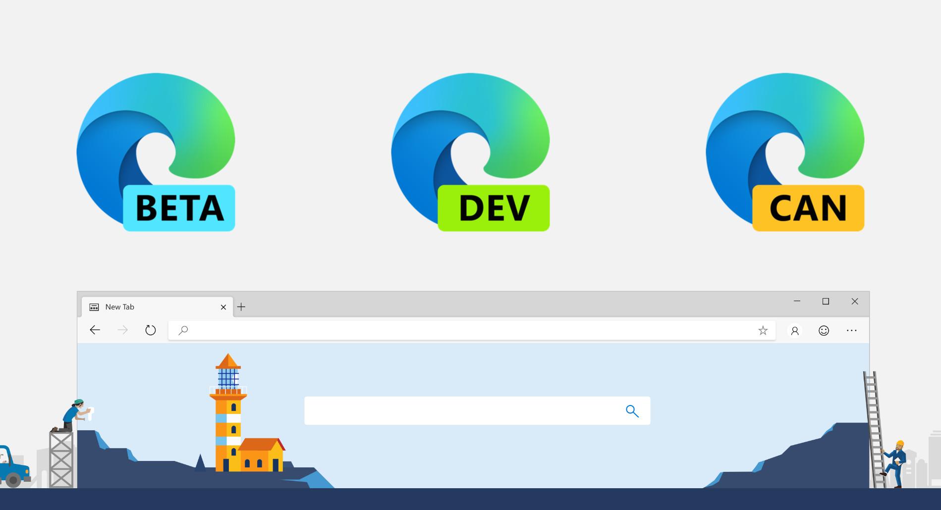 Edge Canary permite escolher perfil para abrir links externos