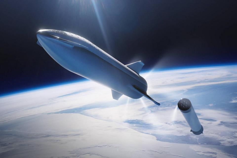 Starship, nave da SpaceX que levará humanos a Marte, fará 1º teste orbital