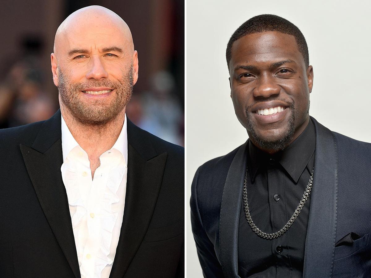 Die Hart: John Travolta e Kevin Hart estarão em nova série do Quibi