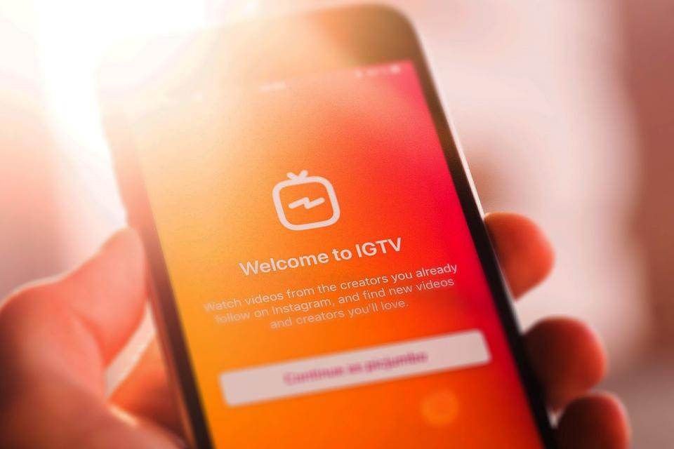 Instagram inicia testes para monetização de vídeos no IGTV