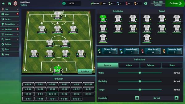 Soccer Manager 2020 - Imagem 3 do software