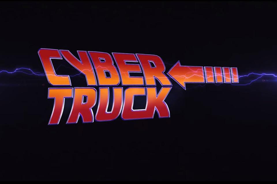 Cybertruck substitui DeLorean em cena de De Volta Para o Futuro