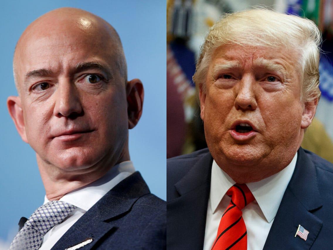 Amazon vai levar Trump aos tribunais por favorecer a Microsoft