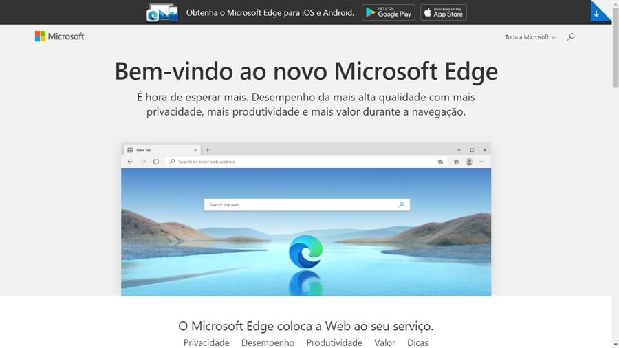 Microsoft Edge com base no Google Chrome - Imagem 4 do software