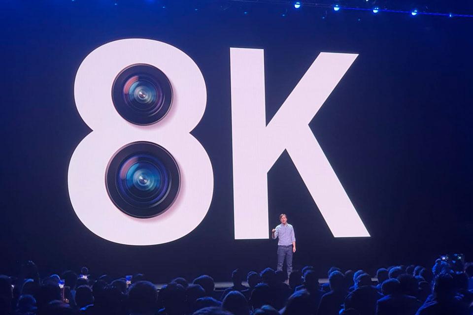Galaxy S20 chega com gravação de vídeos em 8K