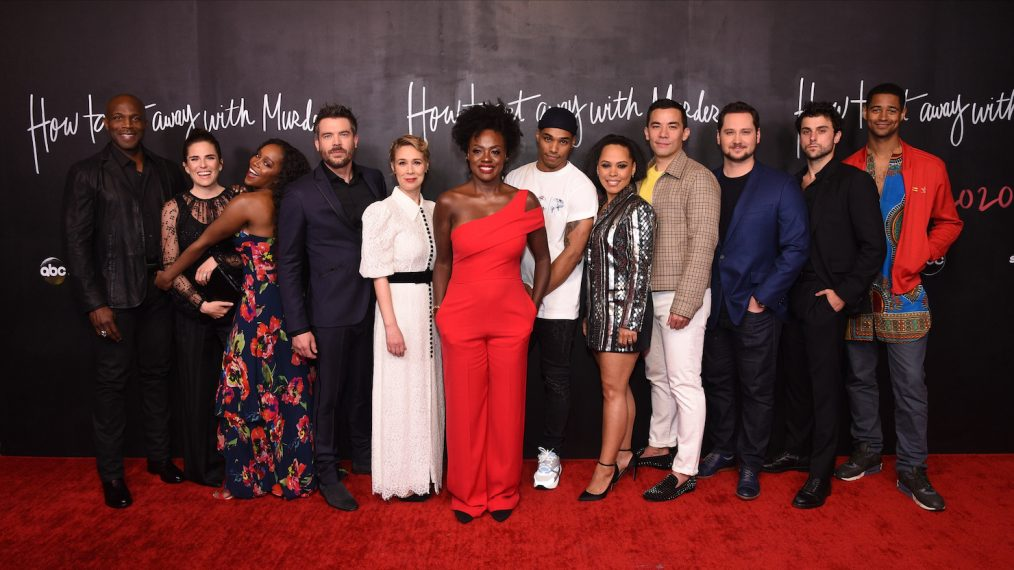 How To Get Away With Murder: elenco celebra fim das gravações (FOTOS)