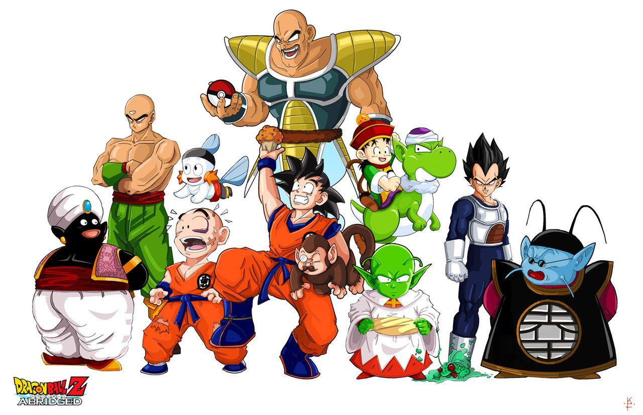 Assista online Dragon Ball Z Abridged, paródia do famoso anime