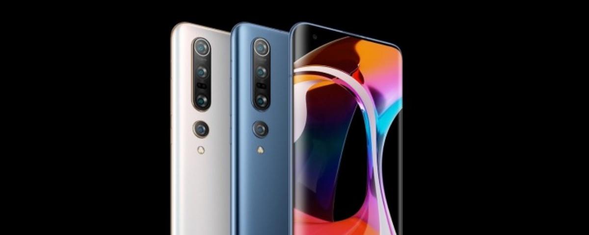 Imagem de: Xiaomi Mi 10 e Mi 10 Pro são lançados; câmeras poderosas