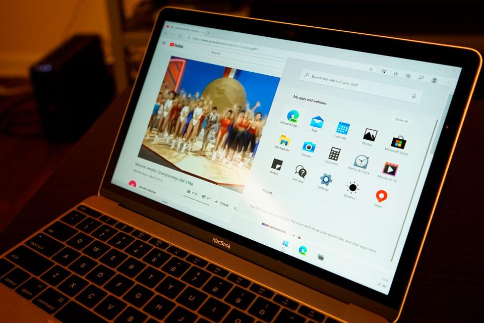 Windows 10X aparece em MacBook da Apple rodando 'perfeitamente'