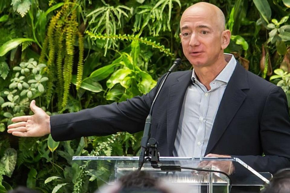 Jeff Bezos cria fundo de US$ 10 bilhões contra o aquecimento global
