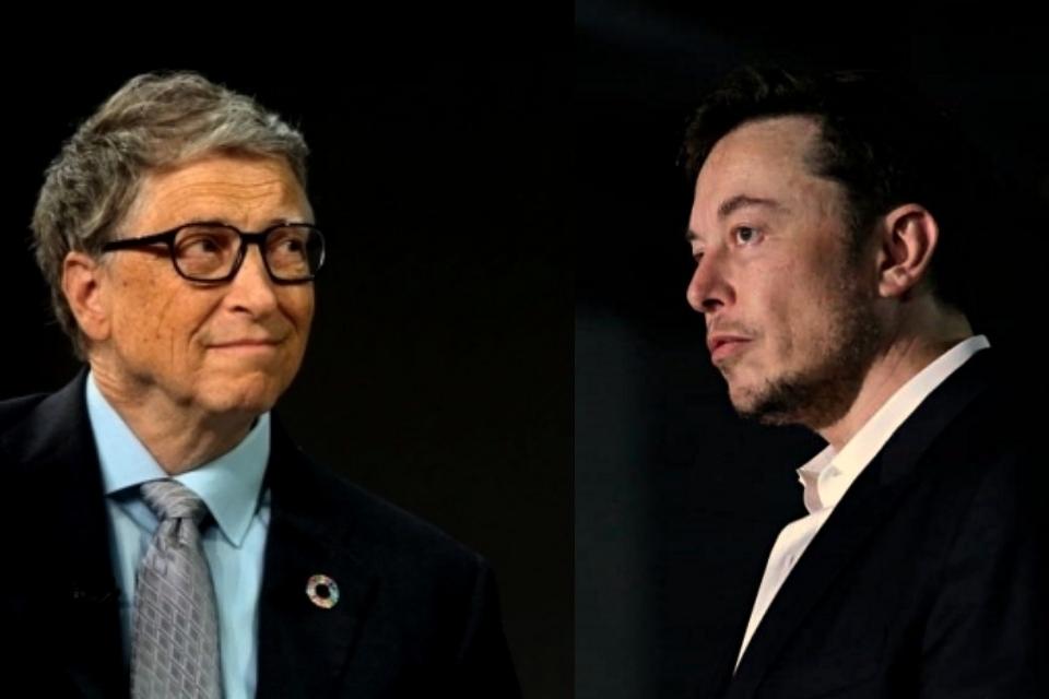 Elon Musk joga farpas em Bill Gates por comprar Porsche elétrico