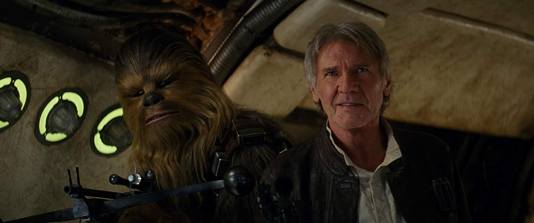 """Star Wars: Harrison Ford não sabe o que é um """"fantasma da força"""""""