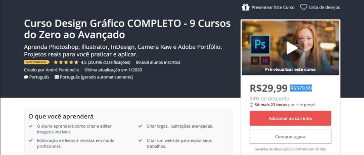 curso udemy photoshop
