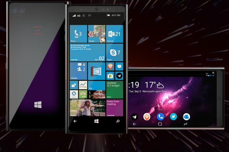 Celular com Windows 10 e Android é lançado por empresa britânica