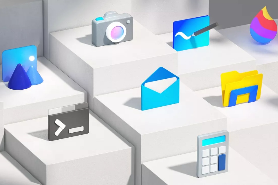 O Windows 10 terá novos ícones, mais modernos e coloridos