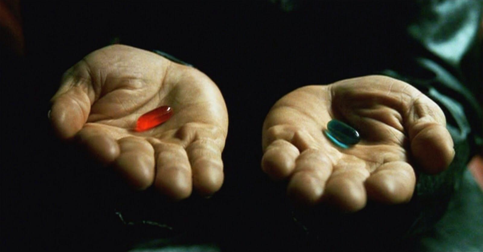 Matrix: o que aconteceria se Neo tivesse escolhido a pílula azul?