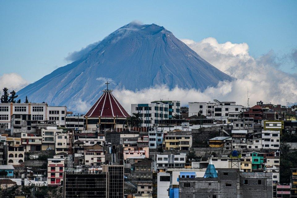 Vulcão Garganta de Fogo apresenta sinais de colapso no Equador