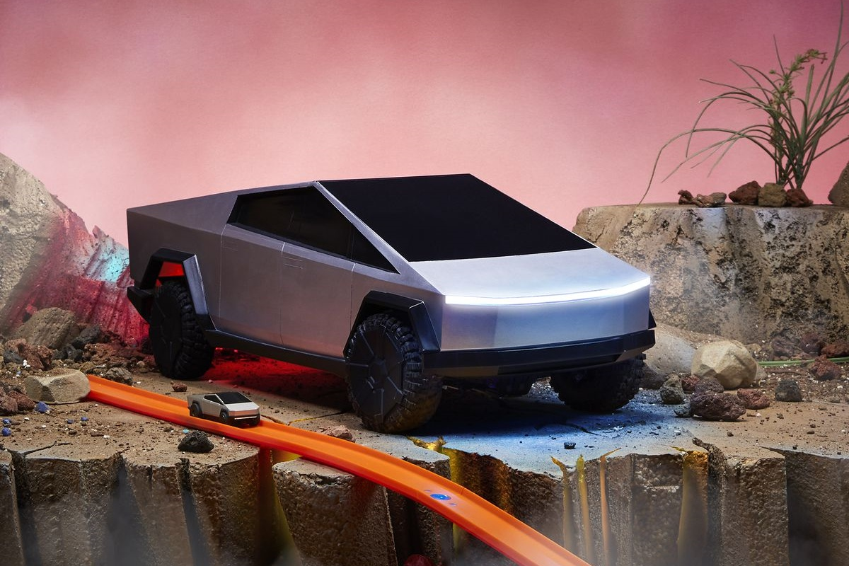 Hot Wheels lança Tesla Cybertruck de controle remoto