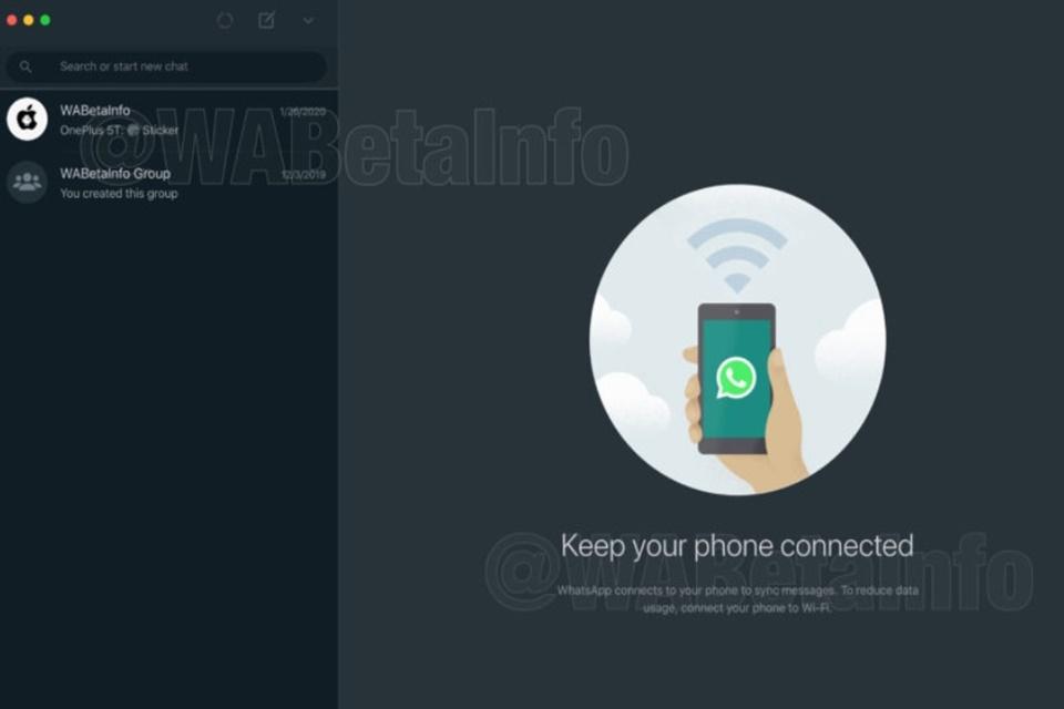 WhatsApp Web e desktop terão Modo Escuro em breve