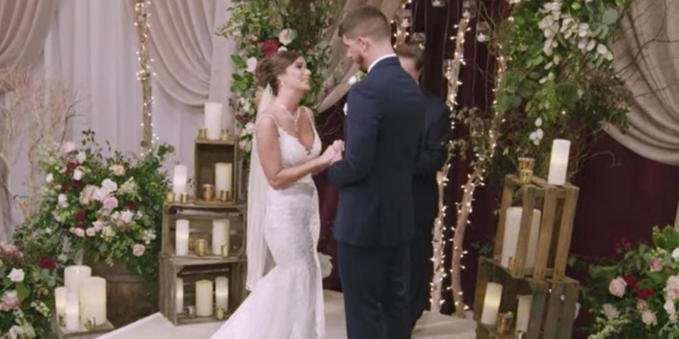 Barnett e Amber: primeiro casal de Love is Blind. (Fonte: Netflix/Divulgação)