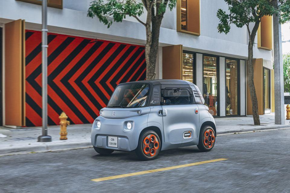 Citroën lança carro elétrico que não exige licença para dirigir