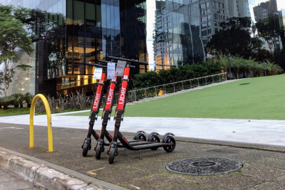 Uber: patinetes elétricos chegam a São Paulo nesta segunda