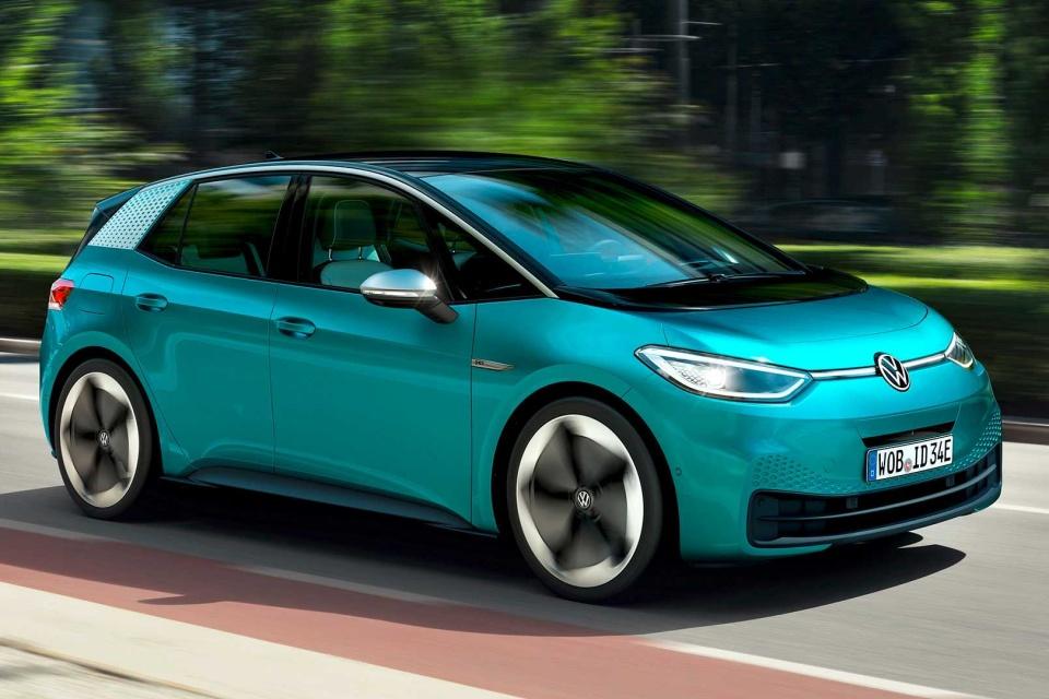 ID.3 e ID.4: elétricos da VW têm até 550 km de autonomia