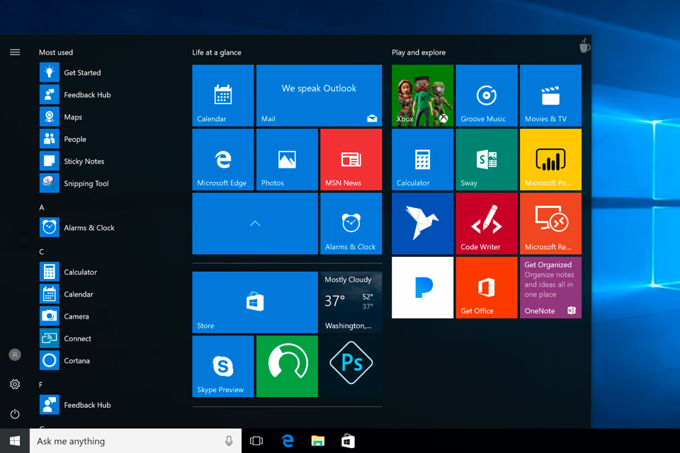 Conheça o novo Menu Iniciar do Windows 10; Live Tiles saem de cena