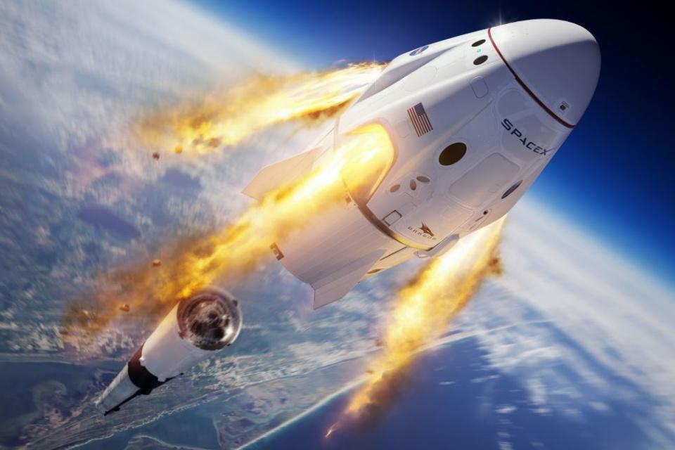SpaceX deve enviar 3 turistas à Estação Espacial em 2021