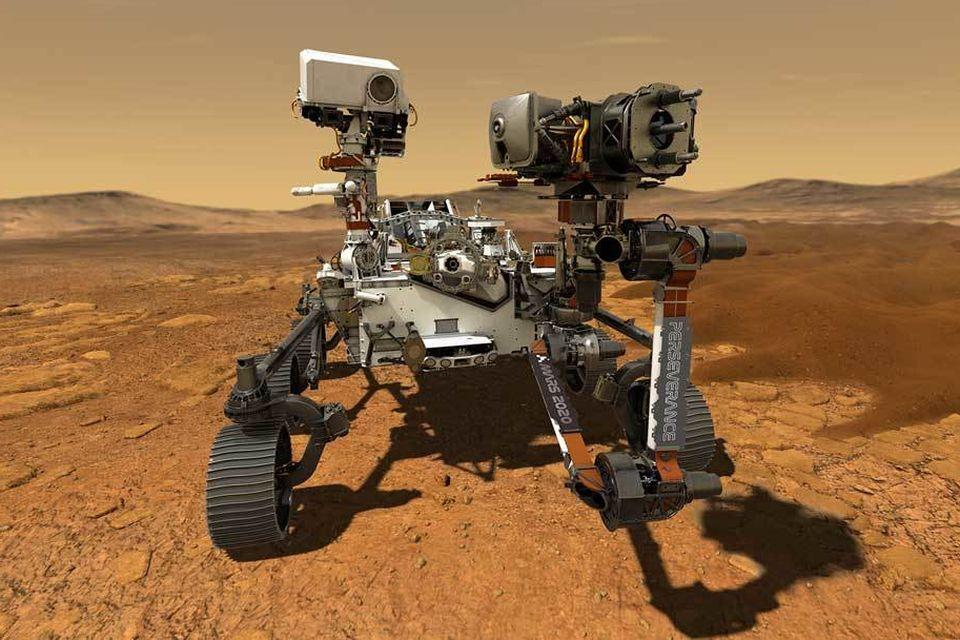 NASA revela o nome do rover que vai buscar vida no solo de Marte