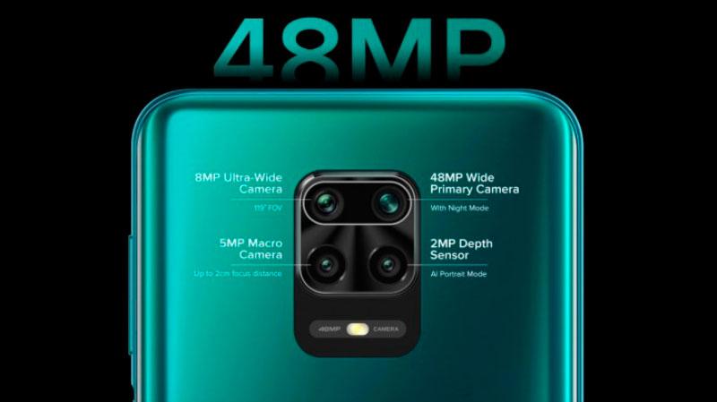 Câmera principal do Redmi Note 9 Pro é de 48 MP