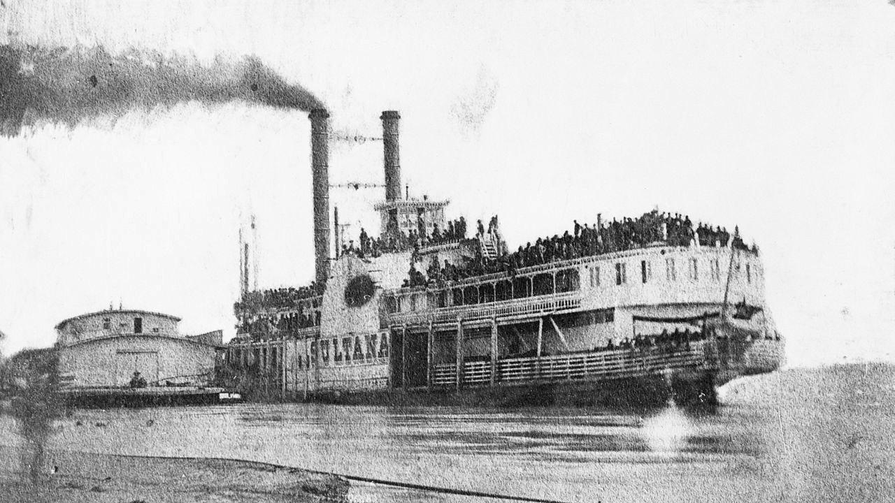 (O barco a vapor Sultana)