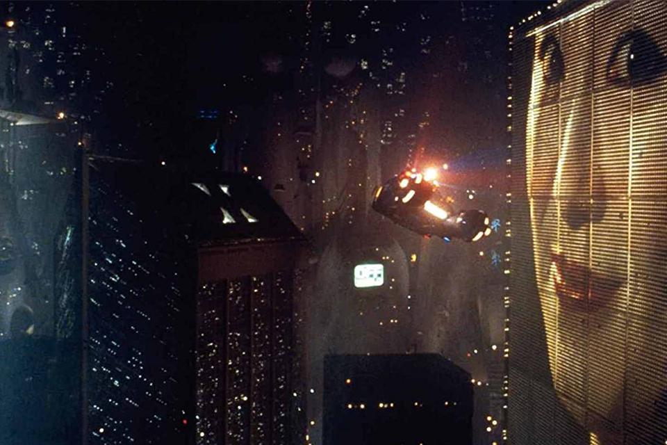 Paisagem distópica de Blade Runner